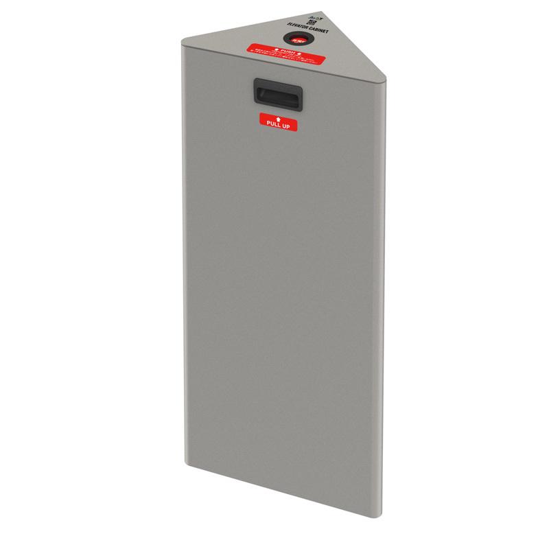 ◆A&AT エレベーター用キャビネット コーナータイプ プレミアム ECC-1PS 1台