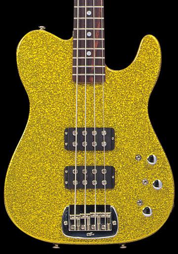 G & L ASAT Bass (Gold Metal Flake/R)