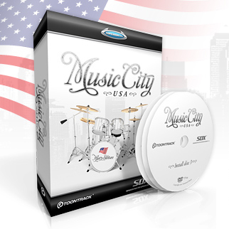 TOONTRACK SDX MUSIC CITY USA ミュージック・シティUSA 【送料無料】 【smtb-u】