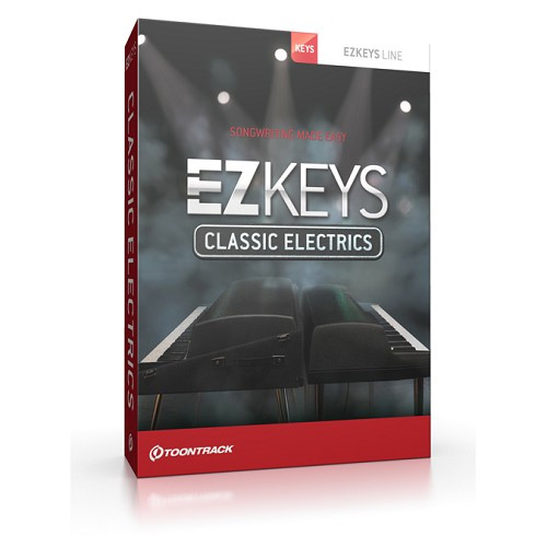 TOONTRACK EZ KEYS - CLASSIC ELECTRICS