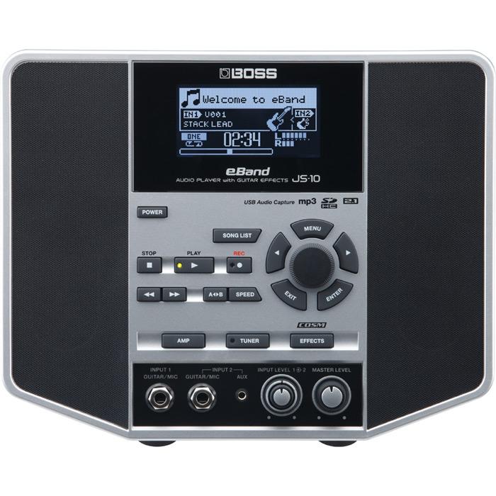 大人気 ギフト ついに入荷 ギタリストのためのオーディオ プレーヤー BOSS eBand JS-10 GUITAR EFFECTS 送料無料 with AUDIO PLAYER