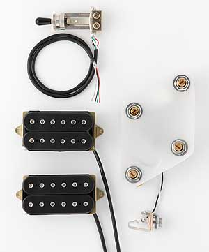 DiMarzio Pre-wired Pickup Set for Les Paul Modern Metal set (GG2100A3BK) 【ご予約受付中】 【smtb-u】