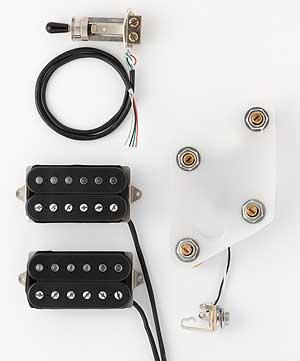 DiMarzio Pre-wired Pickup Set for Les Paul Vintage set (GG2100A1BK) 【ご予約受付中】 【smtb-u】
