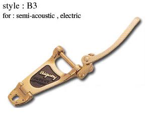 Bigsby Vibrato Tailpiece B3 Plated Gold ビグスビー ビブラート・テイルピース アーム【ご予約受付中】【送料無料】【smtb-u】