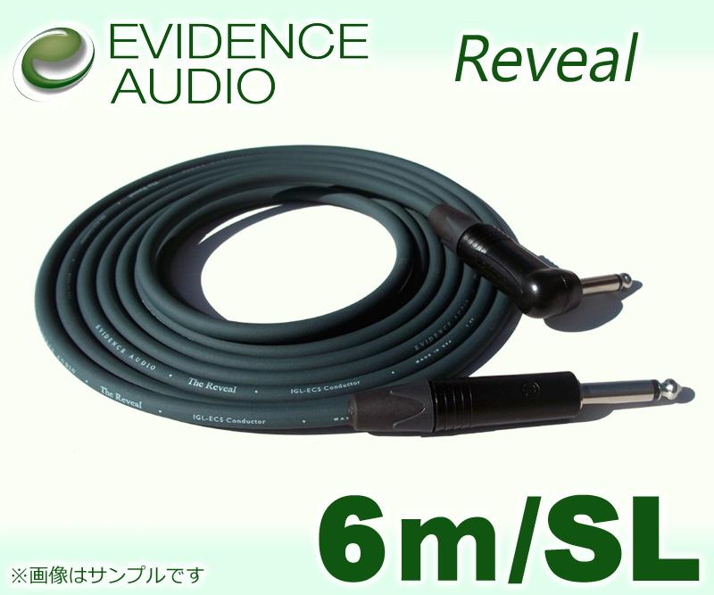 シールド 《エビデンス》 EVIDENCE AUDIO RVRS20〔6m-SL〕《シールド》 NEW 送料無料 卸売り Reveal smtb-u