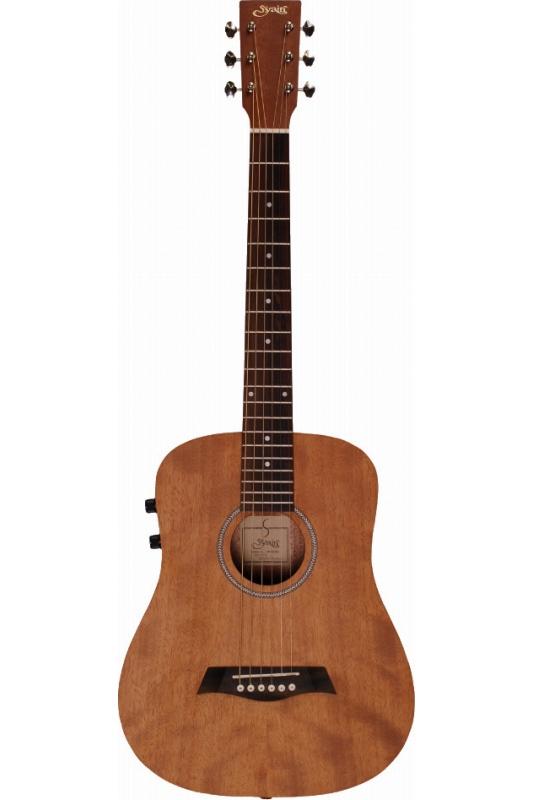 【ご予約受付中】S.Yairi YM-02E/MH (Mahogany)《コンパクト・アコースティックギター》【送料無料】