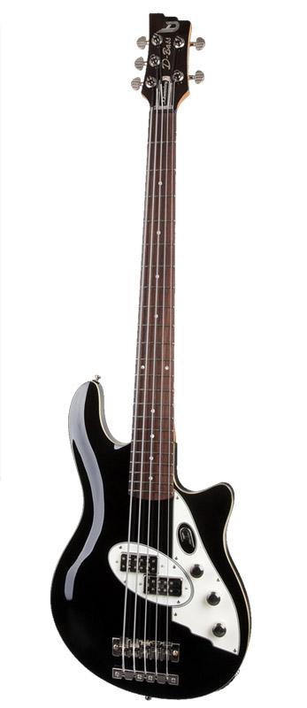 Duesenberg D-Bass 5-strings DDB-5BK (Black)【受注生産品】【送料無料】