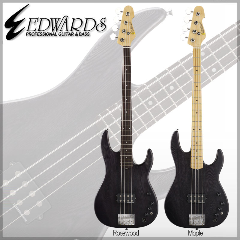 Edwards Artist Series EDWARDS E-AP-123 Kazuhiko (炭 Black/Rosewood/Maple) [ 中村 和彦 / 9mm Parabellum Bullet ] 【送料無料】