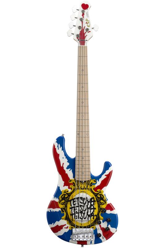 ESP Artist Series Bardic Union Jack [ tetsuya / L'Arc~en~Ciel]【受注生産品】【送料無料】