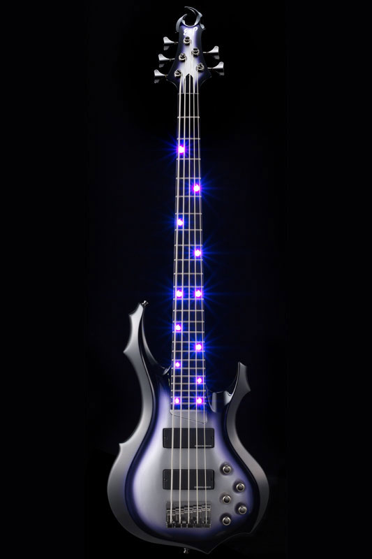 ESP Artist Series ANDROMEDA D LED [ Doris Yeh / ドリス・イエ ] (Black-Purple-Silver Sunburst)【受注生産品】【送料無料】