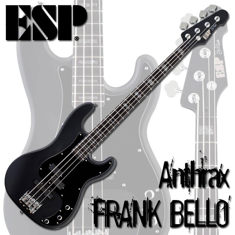 ESP Signature Series FRANK BELLO (Black Satin)【受注生産品】【送料無料】