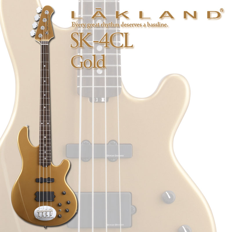 LAKLAND Skyline Japan Series SK-4CL/R (Gold)【送料無料】