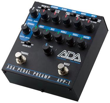 ADA APP-1〔ADAPP1〕《ペダルサイズ・ギター・プリアンプ》【送料無料】【smtb-u】【納期未定・ご予約受付中】