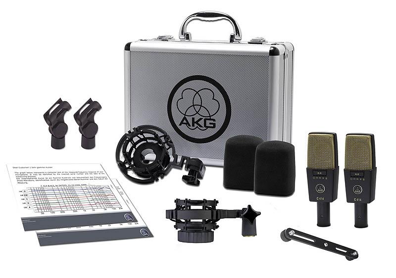 AKG C 414 XLII/ST 《コンデンサーマイク/ステレオペアセット》【送料無料】