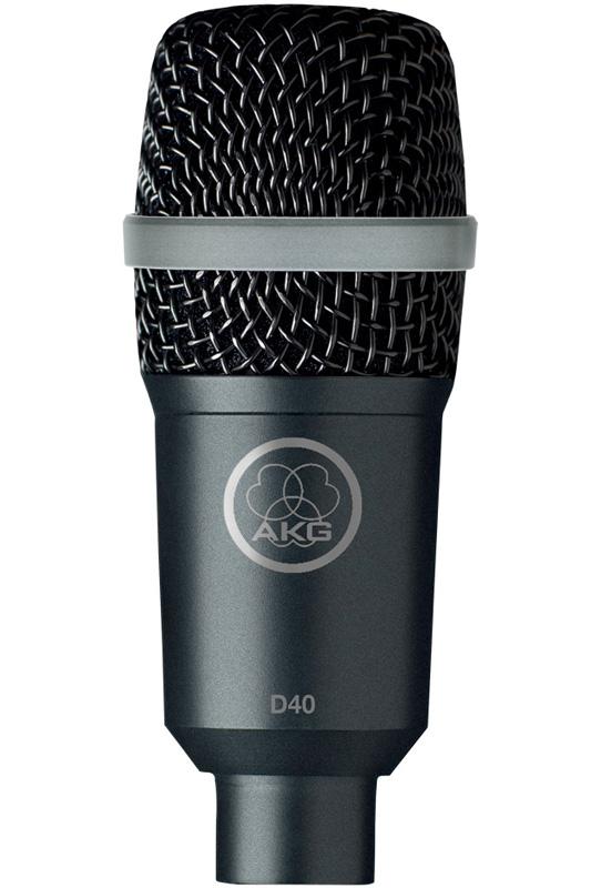 AKG D 40 《楽器用ダイナミックマイク》【送料無料】