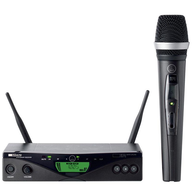 AKG WMS 470 Vocal Set D5 《ダイナミックマイク&ワイヤレスセット》【送料無料】
