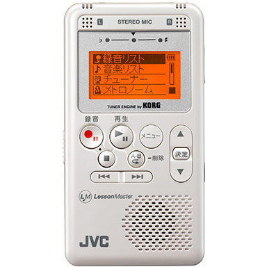 最新な JVC Kenwood Lesson Master XA-LM10-W Kenwood (White) Lesson 《チューナー Master/メトロノーム/ポータブルデジタルレコーダー》【送料無料】, つり具 BLUE MARLIN:e6bb14ee --- canoncity.azurewebsites.net