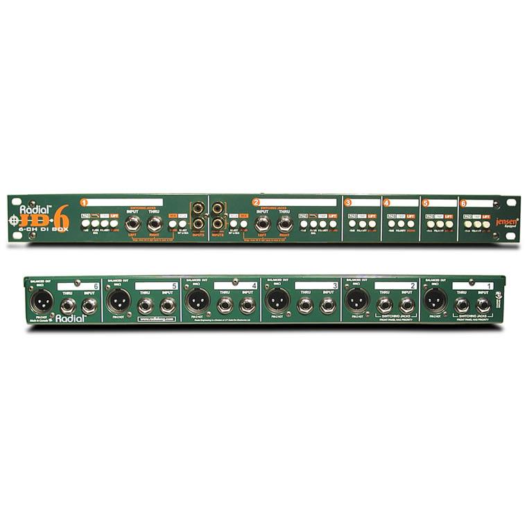 Radial JD6 RD6000《6CHダイレクトボックス/DIボックス》【送料無料】【smtb-u】