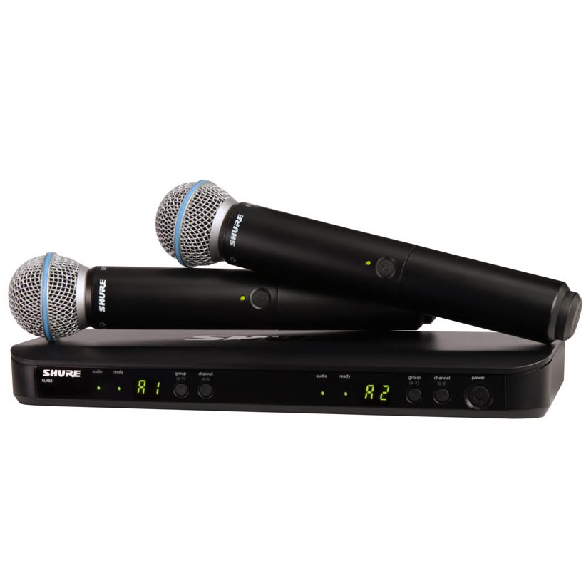 SHURE BLX Premium Wireless BLX288/B58 《BLX デュアルチャンネルハンドヘルドシステム with BETA58/ワイヤレスシステム》【送料無料】