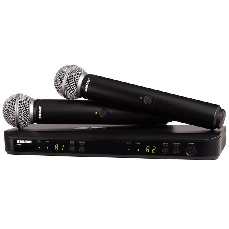 SHURE BLX Premium Wireless BLX288/SM58 《BLX デュアルチャンネルハンドヘルドシステム with SM58/ワイヤレスシステム》【送料無料】