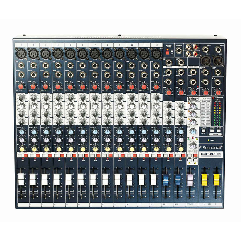 SOUNDCRAFT EFX12《ミキサー》【送料無料 SOUNDCRAFT】, アンの部屋:1f4c1797 --- ww.thecollagist.com