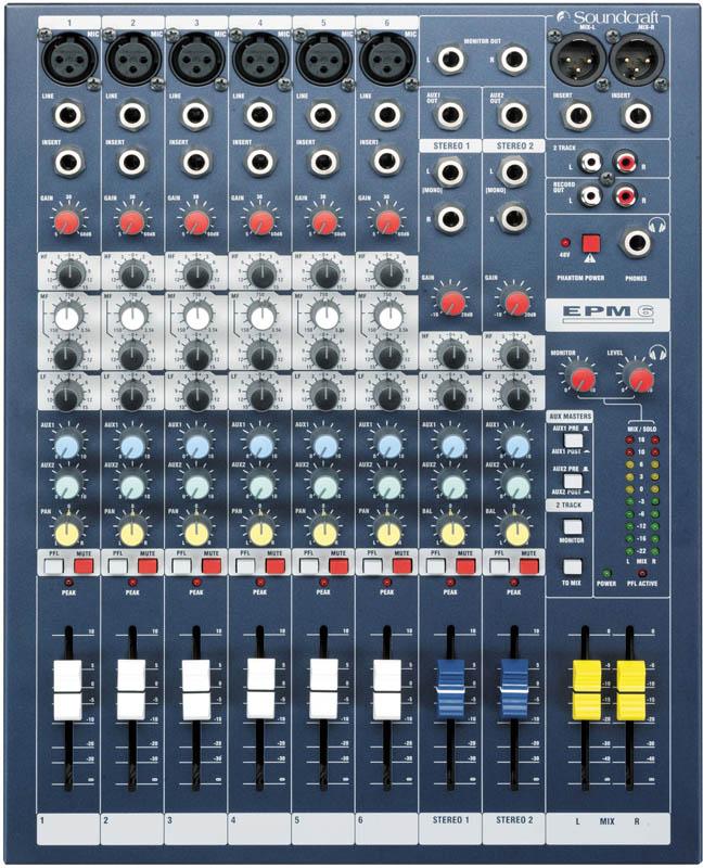 SOUNDCRAFT EPM6《ミキサー》【送料無料】