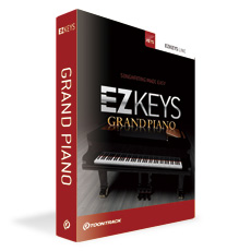 簡単操作 作曲 編曲の強い味方 TOONTRACK 限定特価 EZ KEYS 特売 GRAND グランドピアノ PIANO smtb-u 送料無料 イージー キー