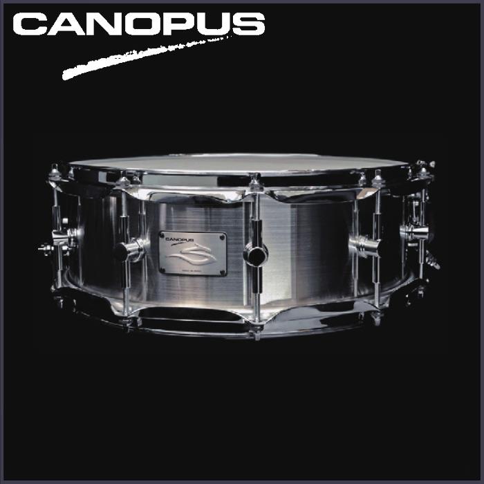 CANOPUS The STEEL S-1450HL-10PH《スネアドラム》【送料無料】