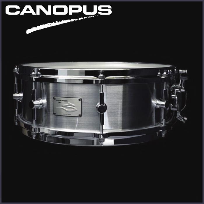 CANOPUS The STEEL S-1450HL《スネアドラム》【送料無料】