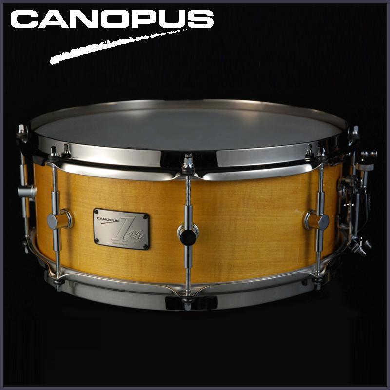 """Canopus SSSM-1455SH (14""""x5.5""""ソフトメイプル単版シェル/ブラスストレートフープ)《スネアドラム》【送料無料】"""