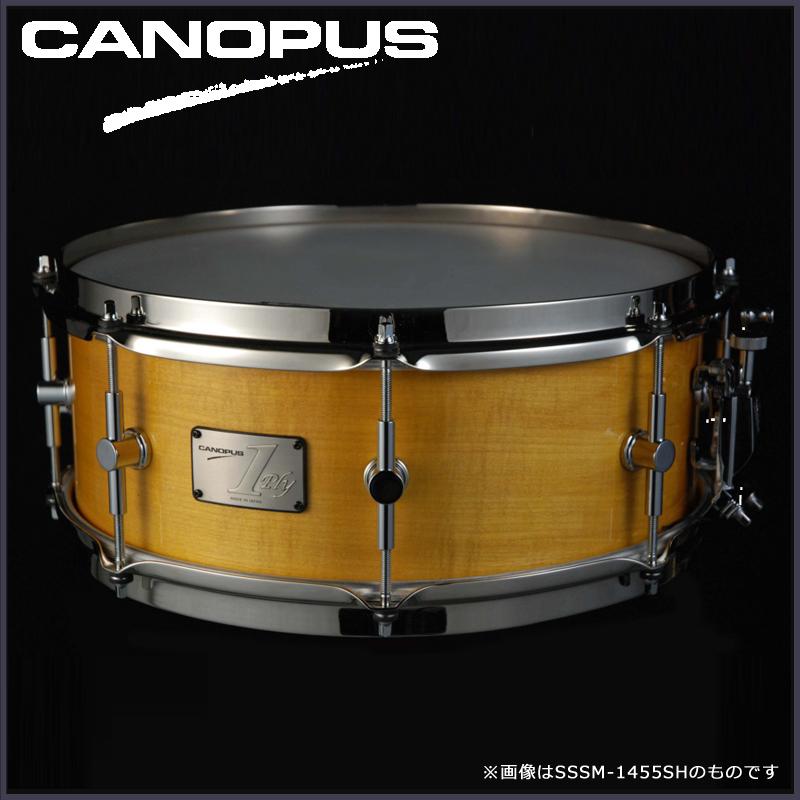 """Canopus SSSM-1465SH (14""""x6.5""""ソフトメイプル単版シェル/ブラスストレートフープ)《スネアドラム》【送料無料】"""