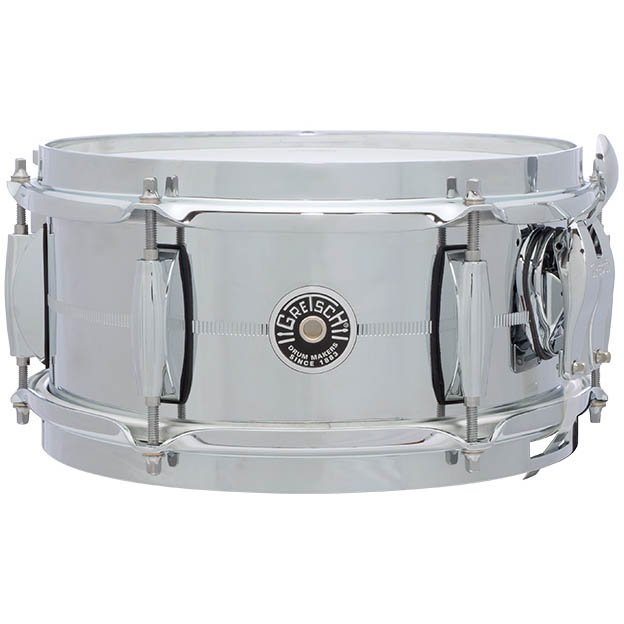 Gretsch Drums Chrome Over Steel Shell Snares GB-4161S (10