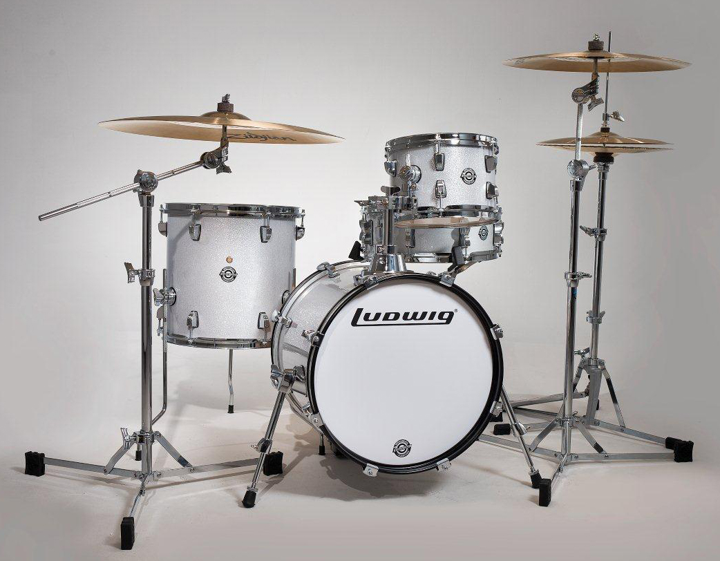 Ludwig BreakBeats / ブレイクビーツ LC179X028 (White Sparkle) 《小口径ドラムセット》 【送料無料】