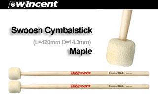 Wincent Cymbalmallets W-Swoosh (Selected Canadian Maple) シンバルマレット 【10セット】 【ご予約受付中】 【送料無料】 【smtb-u】