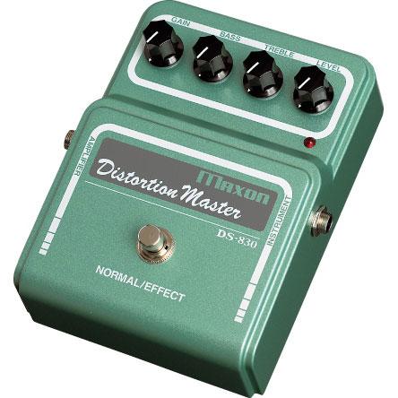 Maxon DS830 Distortion Master 《ディストーション》【送料無料】