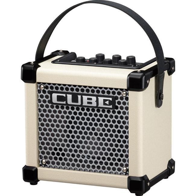 Roland MICRO CUBE GX W 3Wマイクロ・アンプ [M-CUBE GXW] (ホワイト) 【送料無料】