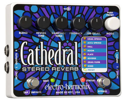 速くおよび自由な Electro Harmonix Cathedral【新聖なステレオリバーブ Harmonix Cathedral】, ナゴシ:54cab367 --- canoncity.azurewebsites.net