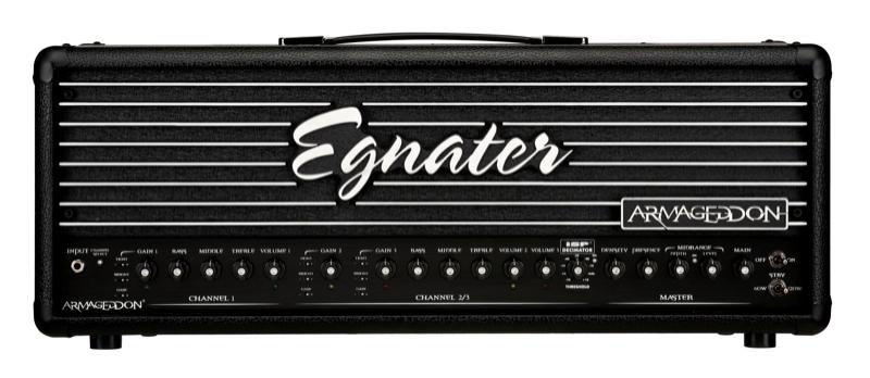 Egnater Armageddon Head〔AR120〕《120W 3ch オールチューブ・ヘッドアンプ》【送料無料】【smtb-u】