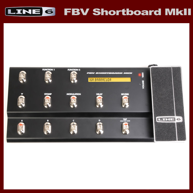 LINE6 FBV Shortboard MKII [SFBVSBMK2] 《フットペダル》【送料無料】