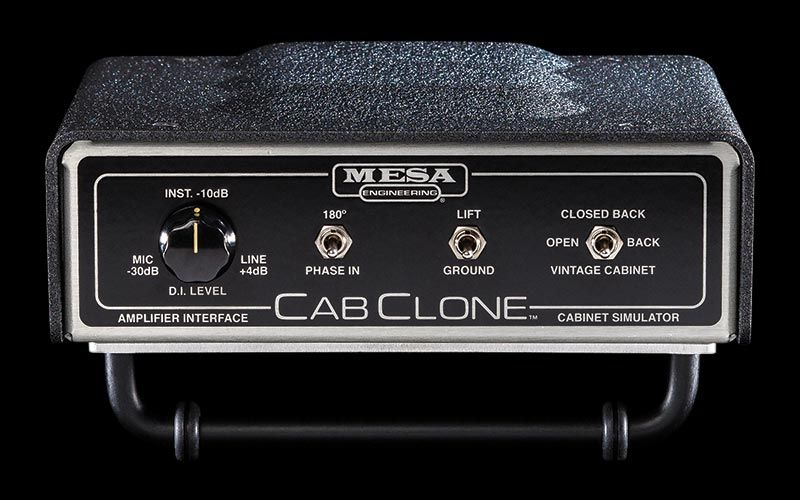 Mesa/Boogie CABCLONE Cabinet Simulator with Internal Amp Load & Headphone 4Ω/8Ω/16Ω【送料無料】