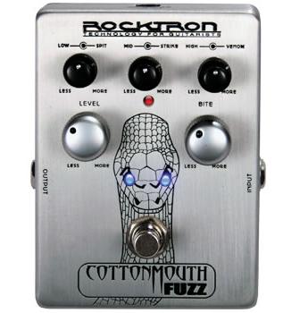 Rocktron Cottonmouth Fuzz ロックトロン コットンマウスファズ 【送料無料】 【smtb-u】