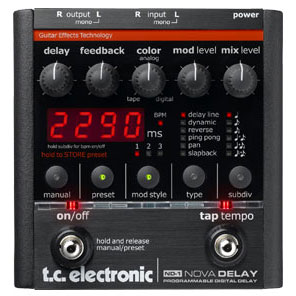 TC Electronic Nova Delay【送料無料】
