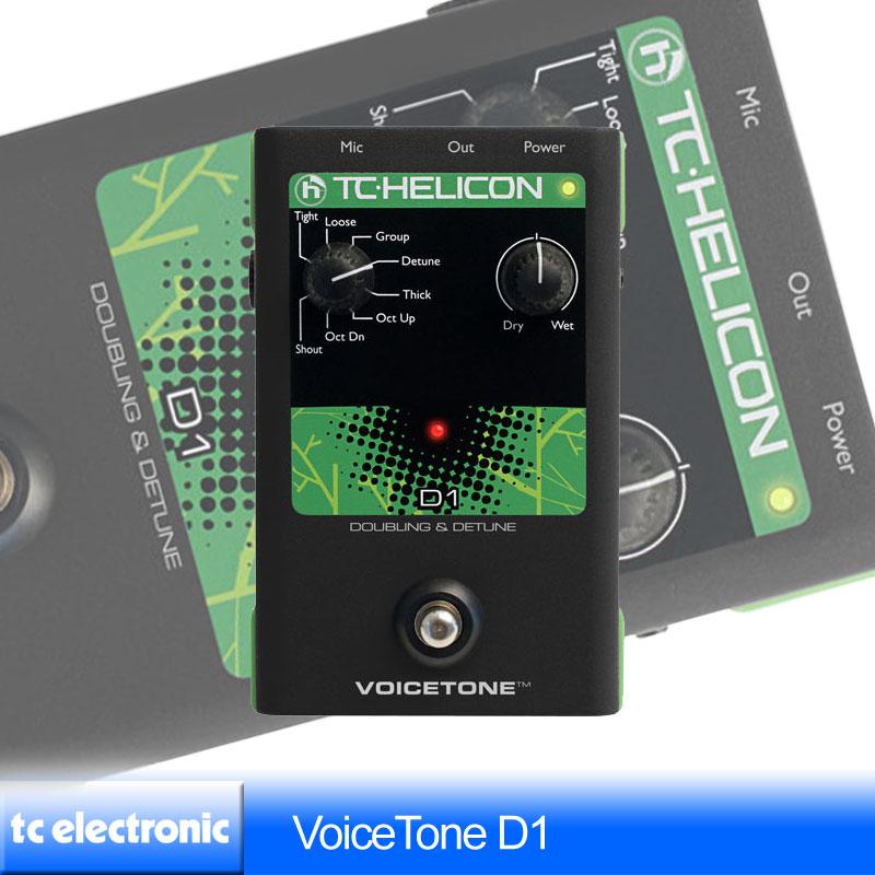 TC Helicon VoiceTone D1【送料無料】