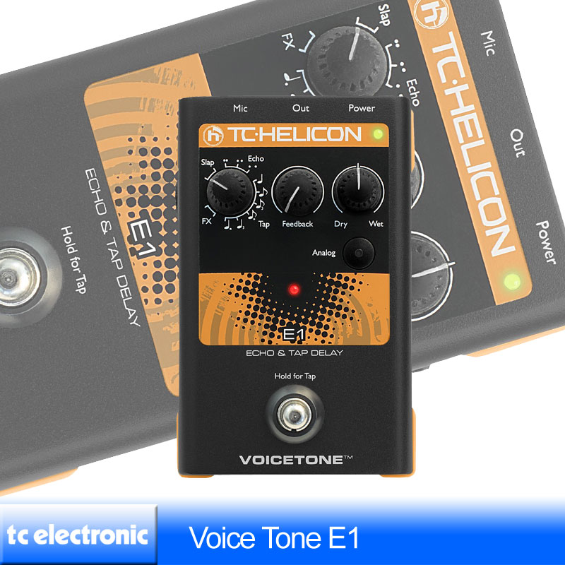 TC Helicon VoiceTone E1【送料無料】