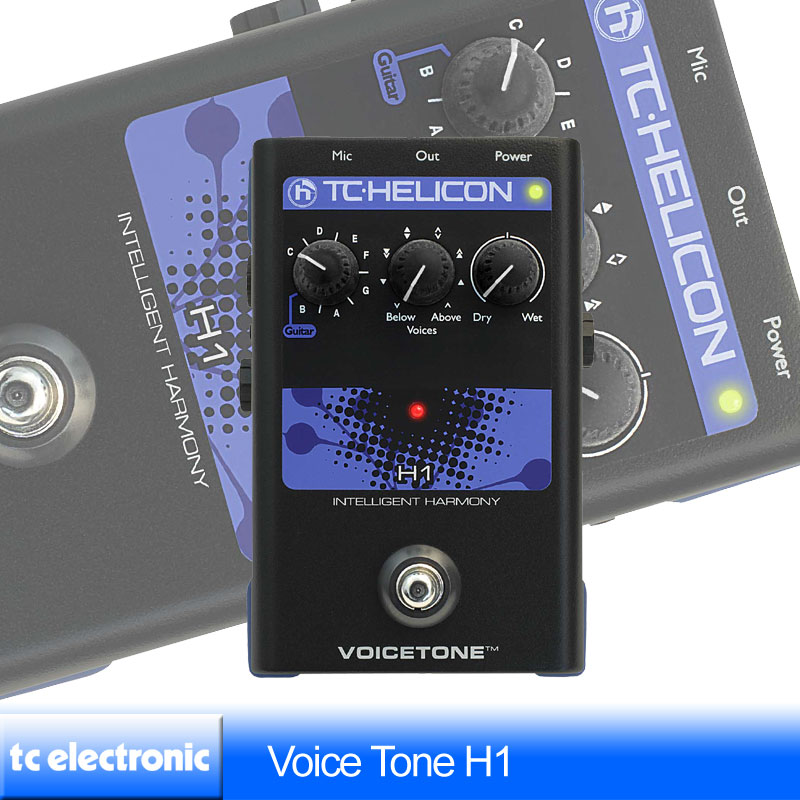TC Helicon VoiceTone H1【送料無料】