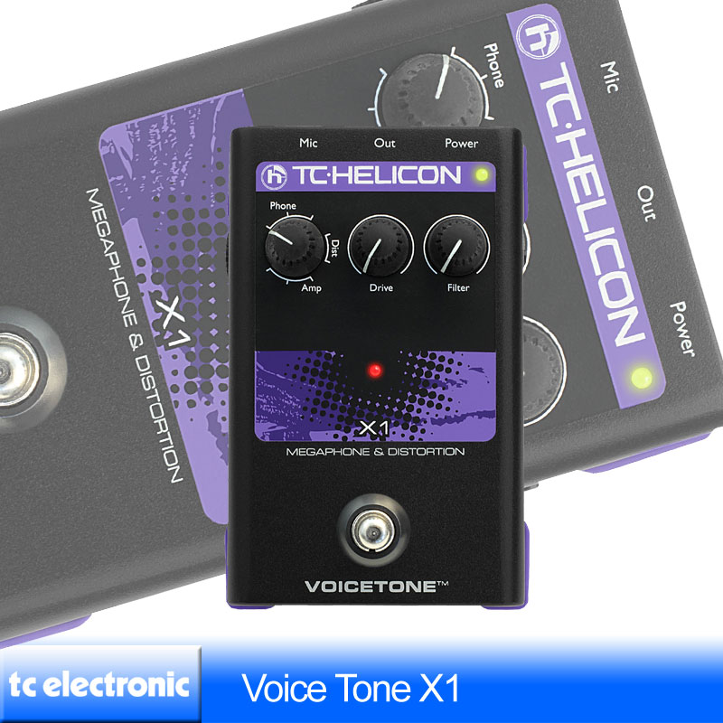 TC Helicon VoiceTone X1【送料無料】