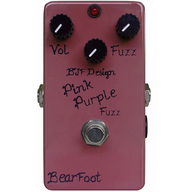 Bearfoot Guitar Effects Pink Purple Fuzz《エフェクター/ファズ》【送料無料】【ご予約受付中】