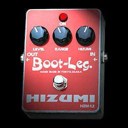 Boot-Leg HIZUMI HZM-1.2《エフェクター/オーバードライブ/ディストーション》【ESPステッカー付き】【送料無料】【smtb-u】