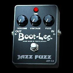Boot-Leg JAZZ FUZZ JZF-1.0《エフェクター/ファズ》【ESPステッカー付き】【送料無料】【smtb-u】