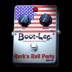 Boot-Leg Rock'n Roll Party RRP-1.0《エフェクター/オーバードライブ》【ESPステッカー付き】【送料無料】【smtb-u】